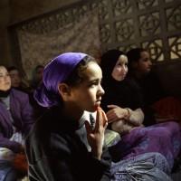 Classe d'alphabétisation pour jeunes filles, Asgaour, Maroc © Isabelle Eshraghi