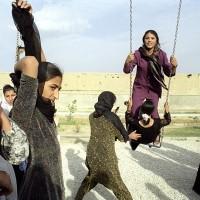 Bagh-e Zanana le Jardin des femmes, Kaboul,  Afghanistan, aout 2003 © Isabelle Eshraghi