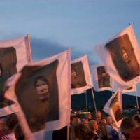 Manifestation pour la mémoire des Quais - Carleton - Maryse Goudreau